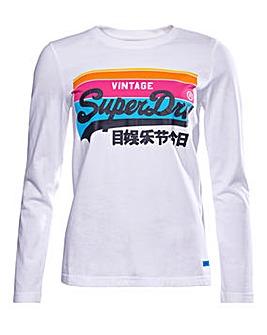 Superdry Vintage Logo Cali Top