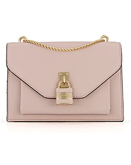 Dune Emiyah Padlock Shoulder Bag