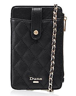 Dune Kimmy Across Body Phone Zip Wallet