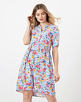 Joules Ella Floral Jersey Dress