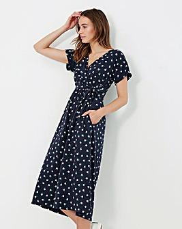 Joules Riley Tie Waist Dress