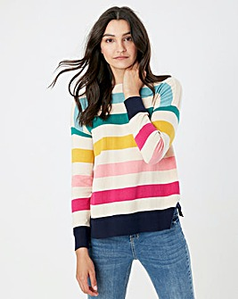 Joules Long Sleeve Striped Jumper