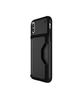 iPhone X Black Wallet Case