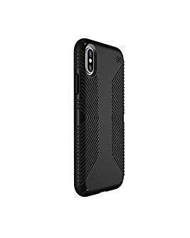 iPhone X Presidio Grip Black Case