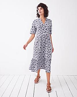 White Stuff Naya Organic Jersey Dress