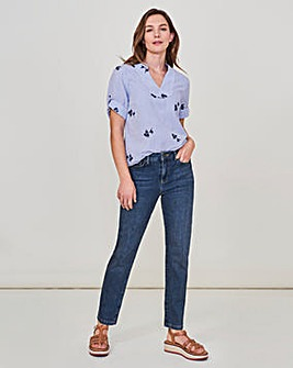 White Stuff Relaxed Slim Fit Jeans
