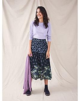 White Stuff Piper Tiered Skirt