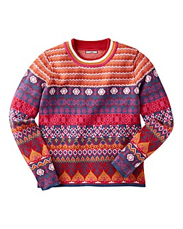 Joe Browns Girls Carnival Jumper