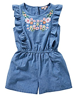 Joe Browns Girls Embroidered Playsuit