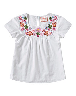 Joe Browns Girls Embroidered Blouse