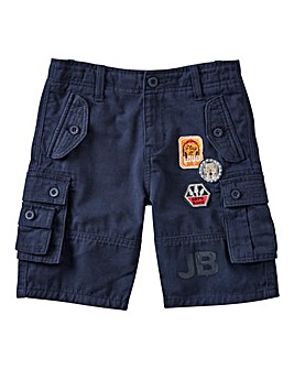 Joe Browns Boys Badges Cargo Shorts