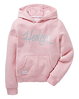 Henleys Girls Hooded Sweatshirt