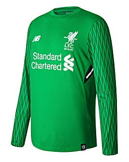 New Balance Liverpool Football Club Home Junior Boys Goal Keeper Replica Jersey