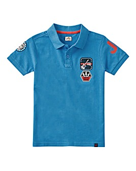 Joe Browns Boys Badges Pique Polo