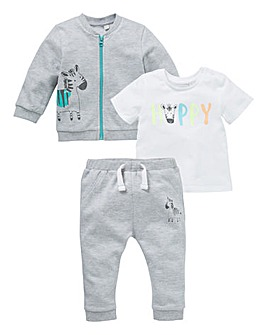 KD Baby Boy Three Piece Jog Set