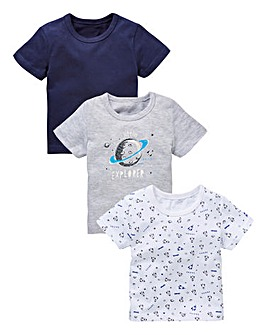 KD Baby Boy Pack of Three T-Shirts