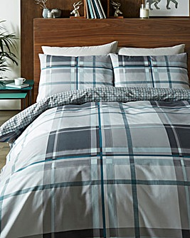 Chesney Grey Duvet Set