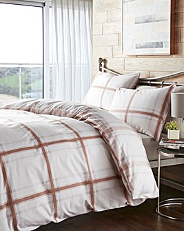 Lincoln Natural Duvet Cover Set