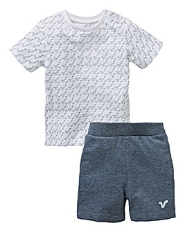 Voi Baby Boy T-Shirt & Fleece Shorts Set
