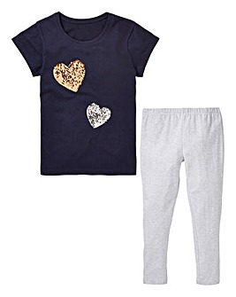 KD Girls Top and Legging Set