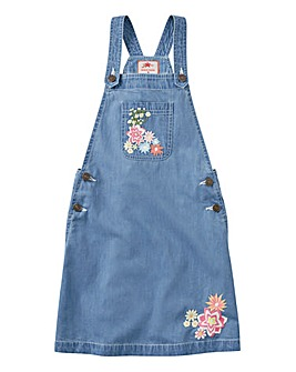 Joe Browns Girls Denim Pinafore Dress