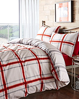 Lincoln Red Duvet Cover Set