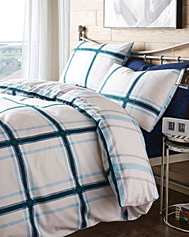 Lincoln Petrol Duvet Cover Set