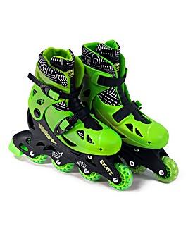 Elektra In Line Skates - Green