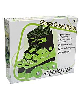 Elektra Quad Boots - Green