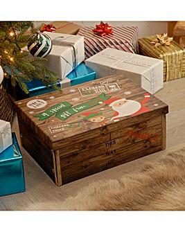 Santa and Elf Medium Box