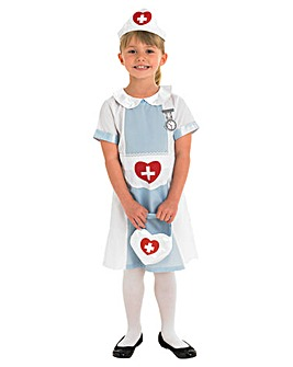 Girls Nurse Dress Up Costume