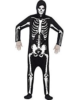 Halloween Adult Onesie Skeleton Costume