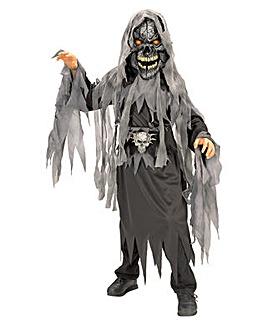 Halloween Boy Evil Skull Eye Costume
