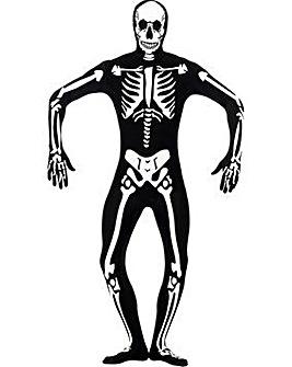 Halloween 2nd Skin Skeleton Costume
