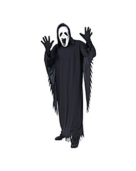 Mens Howling Ghost Costume Std