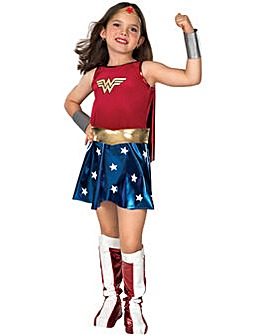 Girls Deluxe Wonderwoman