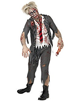Mens Zombie Schoolboy Costume