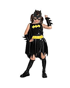 Girls Deluxe Batgirl Costume + Free Gift