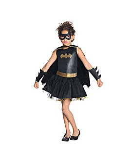 Girls Batgirl Tutu Dress