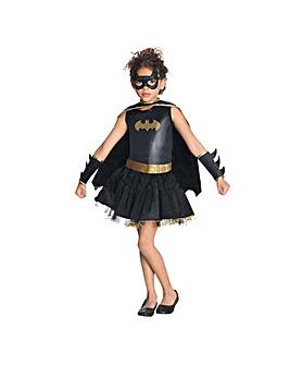 Girls Batgirl Tutu Dress + Free Gift
