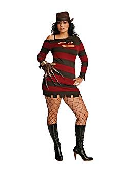 Ladies Miss Kreuger Costume Plus Size