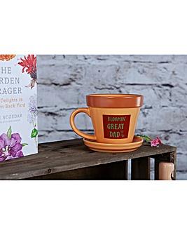 Bloomin Great Dad Garden Mug