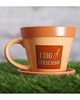 I Dig Gardening Garden Mug