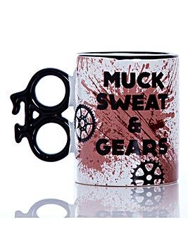 Muck Sweat and Gears Bike Mug