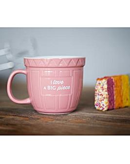 I love a Big Piece Baking Mug