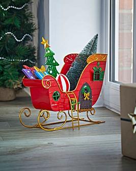 Santa's Sleigh Decoration