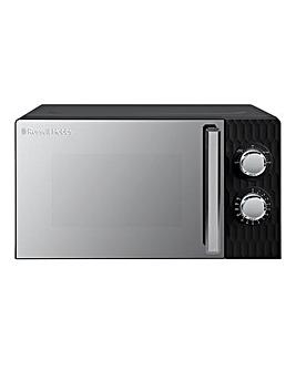 Russell Hobbs RHMM175B Honeycomb Manual Microwave - Black