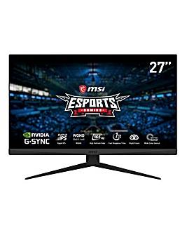 MSI Optix G273QF QHD Rapid IPS 165Hz 27in Gaming Monitor