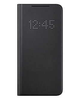 Samsung S21+ LED View Cover - Black