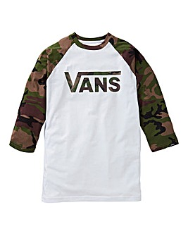 Vans Raglan Boys Tshirt